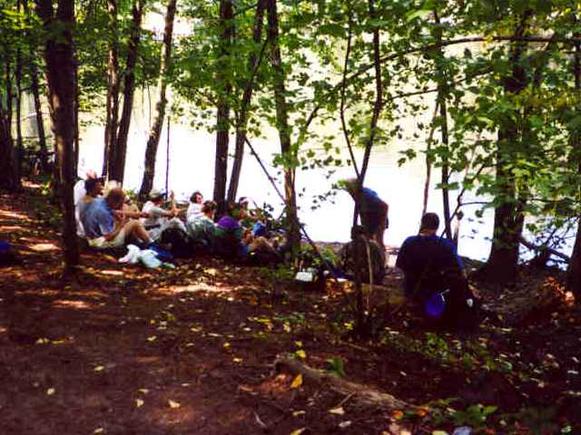 Lunch at Lower Mill Pond, Mt. Misery (Lincoln Conservation Land)